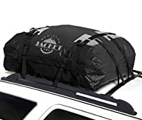 SHIELD JACKET Waterproof Roof Top Cargo Luggage Travel Bag (15 Cubic Feet) - Roof Top Cargo Carrier for Cars, Vans and SUVs - Great for Travel or Off-Roading - Double Vinyl Construction, Easy to Use
