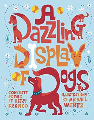 book cover of A Dazzling Display of Dogs