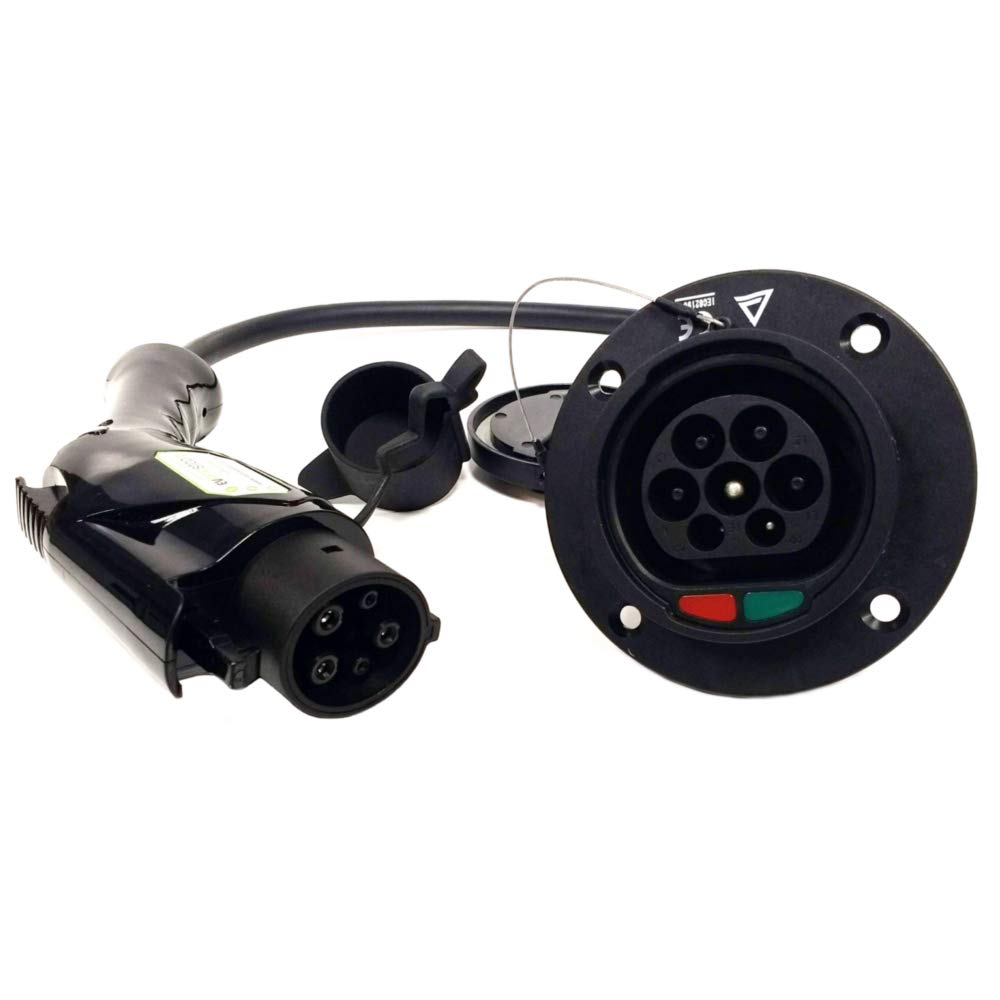 Type 1 32 Amp Electric vehicle Multi Adaptor Swap your charger from Type 2