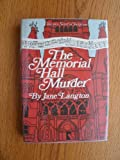 The Memorial Hall Murder, Jane Langton, 0060125071