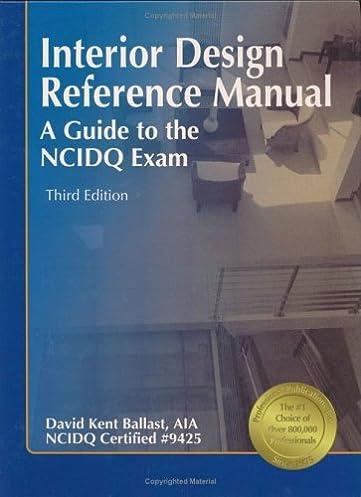 interior design reference manual a guide to the ncidq exam 3rd rh amazon com interior design reference manual audiobook interior design reference manual audiobook