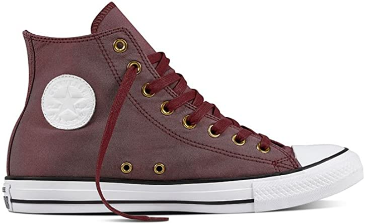 converses rubber rouges 45