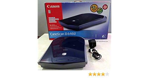 D646U CANOSCAN WINDOWS XP DRIVER