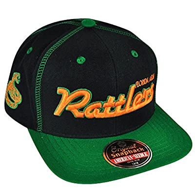 Florida A&M Rattlers Snapback Traxside Baseball Cap (HBCU) from American Needle