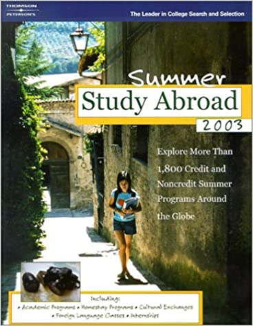 Summer Study Abroad 2003