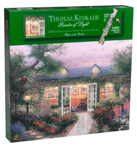 Thomas Kinkade Moonlight Cottage - Thomas Kinkade 500 Piece