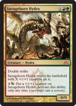 Magic: The Gathering - Savageborn Hydra - Dragon's Maze ()