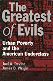 The Greatest of Evils : Urban Poverty and the American Underclass, Devine, Joel A. and Wright, James D., 0202304736