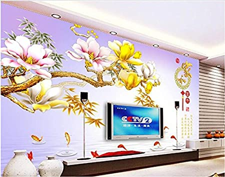 malilove 3d room wallpaper custom mural non woven photo orchidmalilove 3d room wallpaper custom mural non woven photo orchid flowers carp decoration painting 3d wall murals wallpaper for walls 3d amazon co uk diy \u0026