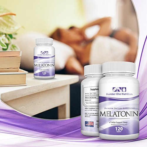 Amazon.com: Number One Nutrition Melatonin 3mg, Natural Sleep Aid, 120 Tablets: Health & Personal Care