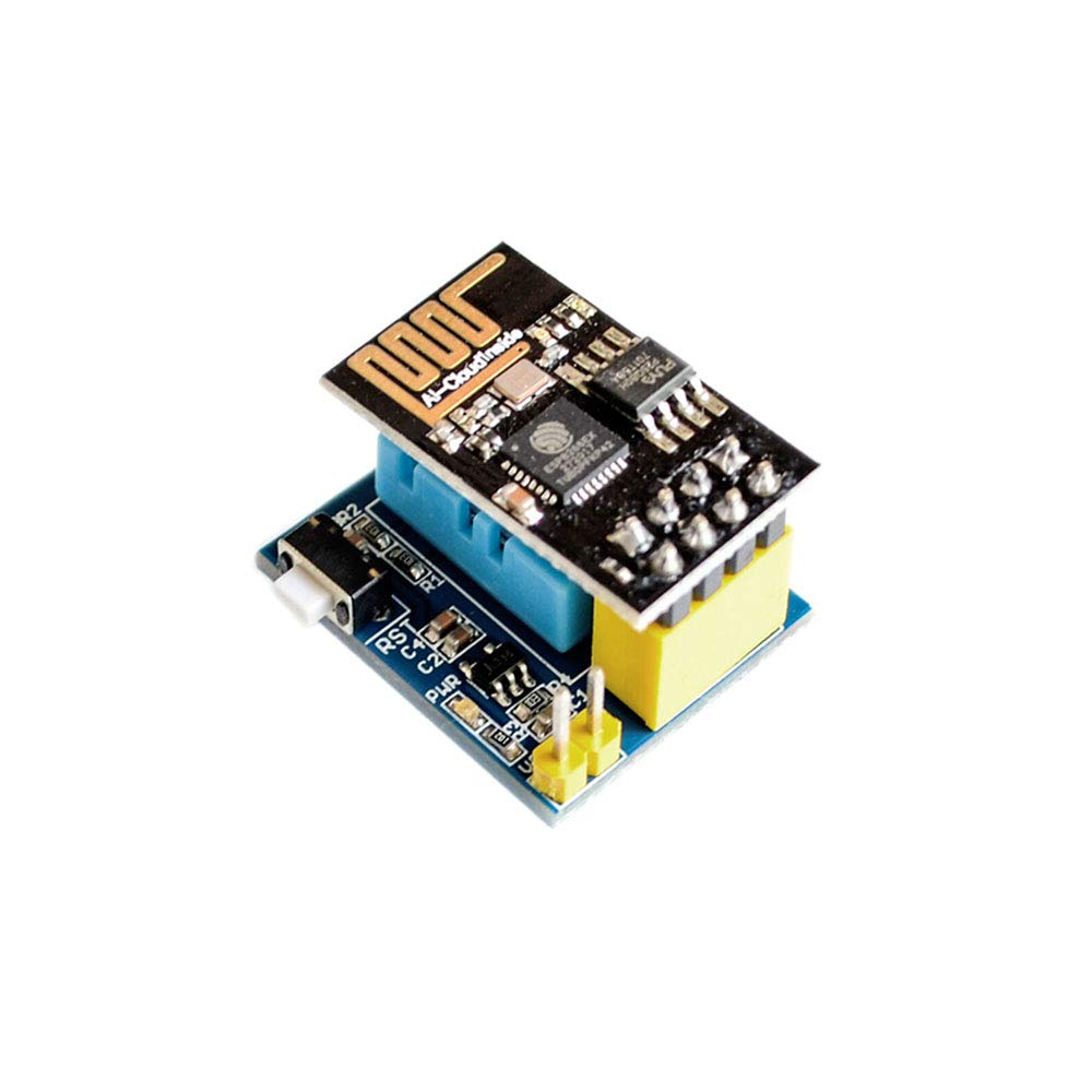 10SETS/LOT ESP8266 ESP-01 ESP-01S DHT11 Temperature Humidity Sensor Module esp8266 WiFi NodeMCU Smart Home IOT DIY Kit