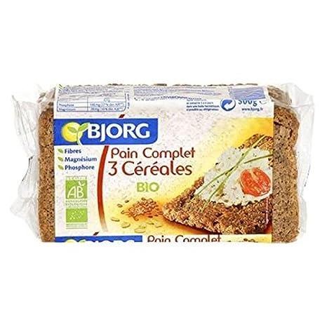 BJORG Completa Pain 3 Céréales500G: Amazon.es: Alimentación ...