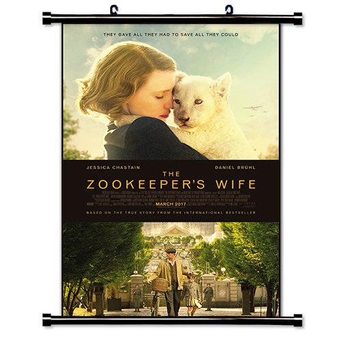 The Zookeeper's Wife Movie Wall Scroll Poster
