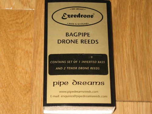Ezeedrone Bagpipe Drone Reeds w/ Inverted Bass (Band Bass Pipe)