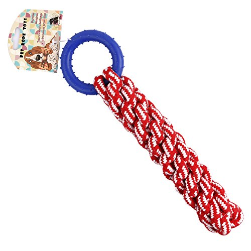 Petlucky dog toys for chewing, training, tuggin...