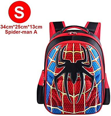 The Avengers Spiderman Superman Boys Backpack Cartoon School Kindergarten  Bag