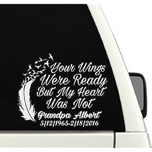 In loving memory car decals amazon com