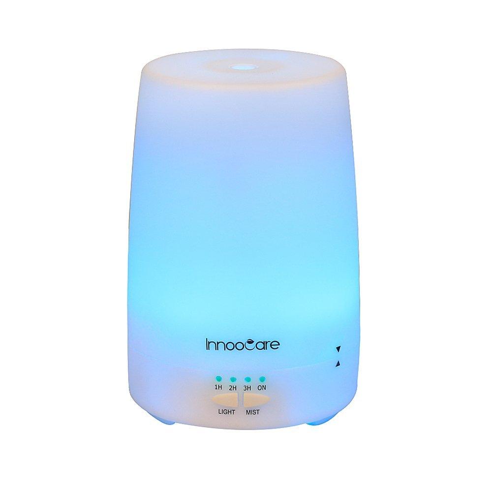 InnooCare ml Humidificador Ultrasónico Aromaterapia Difusor de Aceites Esenciales Vapor Frío Luz