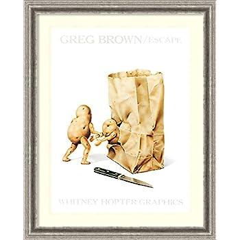 VEGETABLES ART PRINT Escape Greg Brown