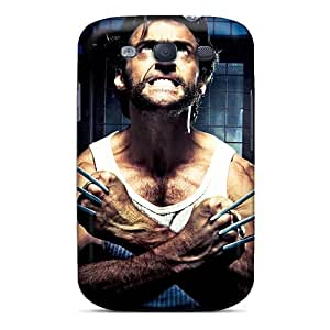New Tpu Hard Case Premium Galaxy S3 Skin Case Cover(logan Wolverine)