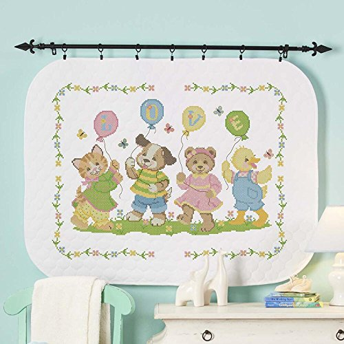 Baby by Herrschners Pre-Quilted Little Ones Baby Quilt Stamp