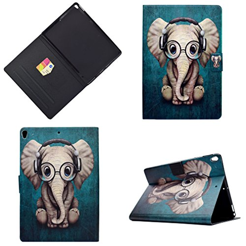 6 T560 9 Cover Lmazwufulm Music Leath thin Samsung Holster Pattern Pu Ultra For Function T565 Closure Magnetic Bookstyle Tab Elephant Leather 6 Case Folding E 9 Inch Stent Galaxy 1 Color With Of Rv0q8w1R
