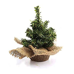 "Darice RC-6532 Holiday Mixed Canadian Tree with Burlap Base - 124 Tips - 18"" (1 Pack) 65"