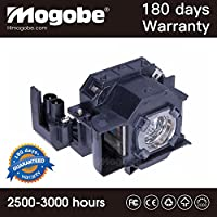 For ELPLP34 Replacement Lamp with Housing for PowerLite 62C 76C 82C Projector by Mogobe