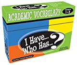Software : I Have...Who Has...? Academic Vocabulary Grades 1-2