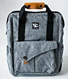 cross stitch ready to make - Backpack Diaper Bag - Multi-Function - 4 Large Insulated Pockets For Bottles - Stroller Straps & Tote Design - Spacious Organizer with Laptop Pocket - Water Proof Linen - Cute For Women Manly For Men