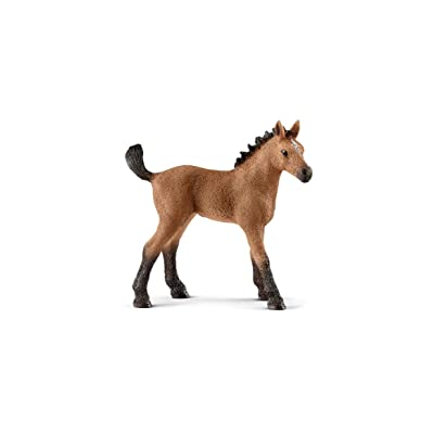 SCHLEICH Horse Club Quarter Horse Foal Educational Figurine for Kids Ages 5-12: Schleich: Toys & Games