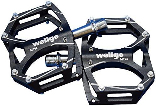 Wellgo ウェルゴ M194 CNCアルミペダル スパイクピン付