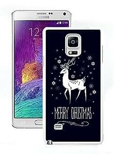 Special Custom Made Merry Christmas White Samsung Galaxy Note 4 Case 5 Kimberly Kurzendoerfer