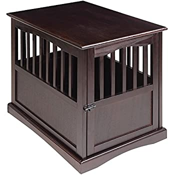 Casual Home 600-44 Pet Crate, Espresso, 24 Inch