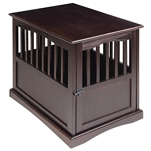 Casual Home Pet Crate, Espresso, 24 Inch