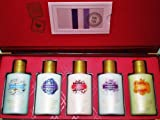 Victoria's Secret Garden Body Lotions Gift Set Including Love Spell, Amber Romance, Pure Seduction, Berry Kiss and Secret Charm