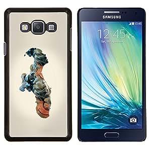 Planetar® ( Nubes Significado Hombre Humanos ) Samsung Galaxy A7 A7000 Fundas Cover Cubre Hard Case Cover