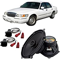 Fits Mercury Grand Marquis 1998-2002 Front Door Factory Replacement Harmony HA-R68 Speakers