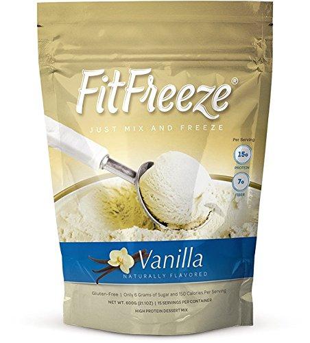 FitFreeze Vanilla (Fudge Brownie Cheesecake)