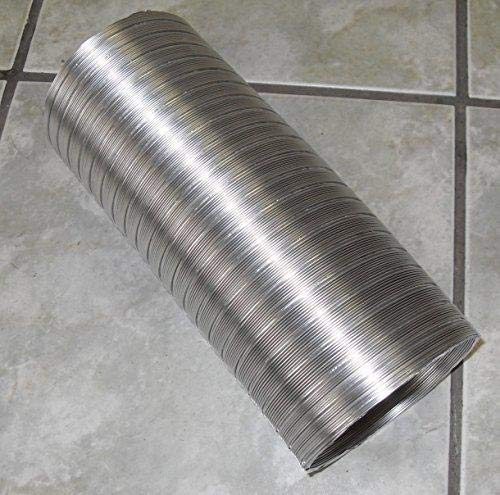 Metal Flexible Aluminium Ducting 100 mm Semi Rigid Up To 1 Metre