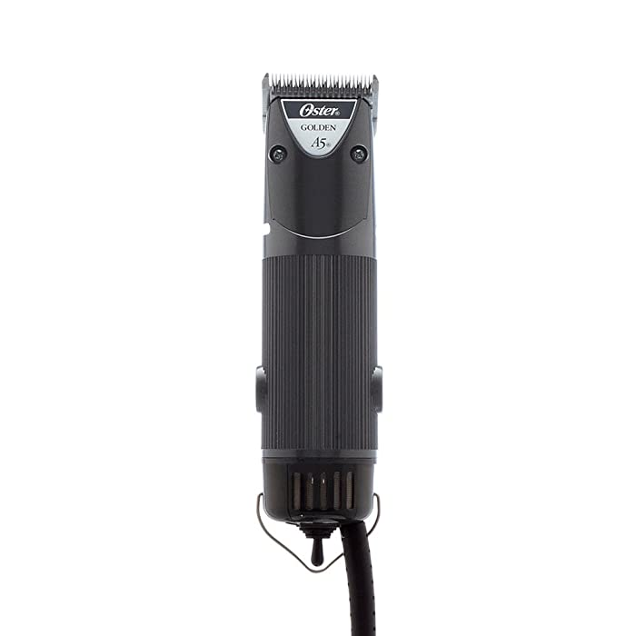 Oster Golden A5 Two-Speed Animal Grooming Clippers with Detachable CryogenX Size 10 Blade (078005-140-002)