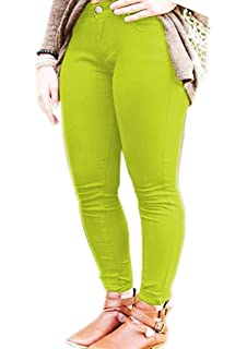 8846c138b23 SA Fashions New Ladies Womens Skinny Plus Size Casual Super Stretchy Fitted  Celebrity Jeggings…
