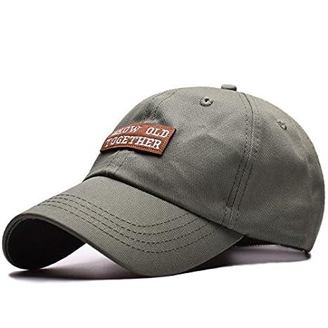 d15543d1 Amazon.com : ALWLj 100% Cotton Baseball Cap Men Women Outdoor Sport ...