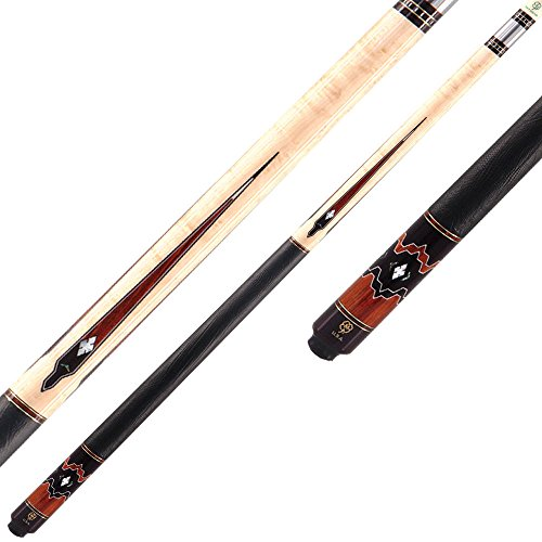 McDermott 58in G Series G804 Two-Piece Pool Cue Size: 13mm (STANDARD), Style 21 oz