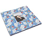 """Feed Sacks True Blue Layer Cake, 42-10"""" Precut Fabric Quilt Squares By Linzee Kull McCray"""