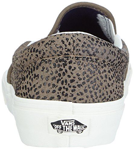 VansU CLASSIC SLIP-ON CHEETAH SUEDE - Zapatillas Unisex adulto multicolor - Mehrfarbig ((Cheetah Suede) black/tan)