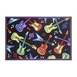 Fun Time-NEW Kids Home Decorative Area Rug Nylon Guitars -19'''' X 29'''' Toys Christmas Gift
