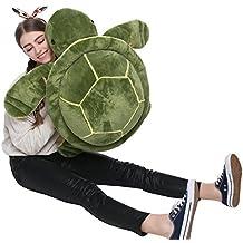 MorisMos Big Plush Eyes Sea Turtle Stuffed Animal Tortoise Toys for Children Girlfriend 25.6 inches