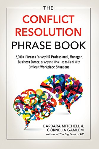 The Conflict Resolution Phrase Book cover