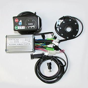 GZFTM 36 V acoplador de Bicicleta Indicadores Detector con Bicicleta electrónico Motor del Sensor Hall Bicicleta Eléctrica Oración: Amazon.es: Deportes y ...